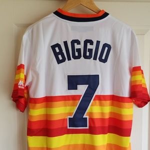 CRAIG BIGGIO HOUSTON ASTROS THROWBACK JERSEY